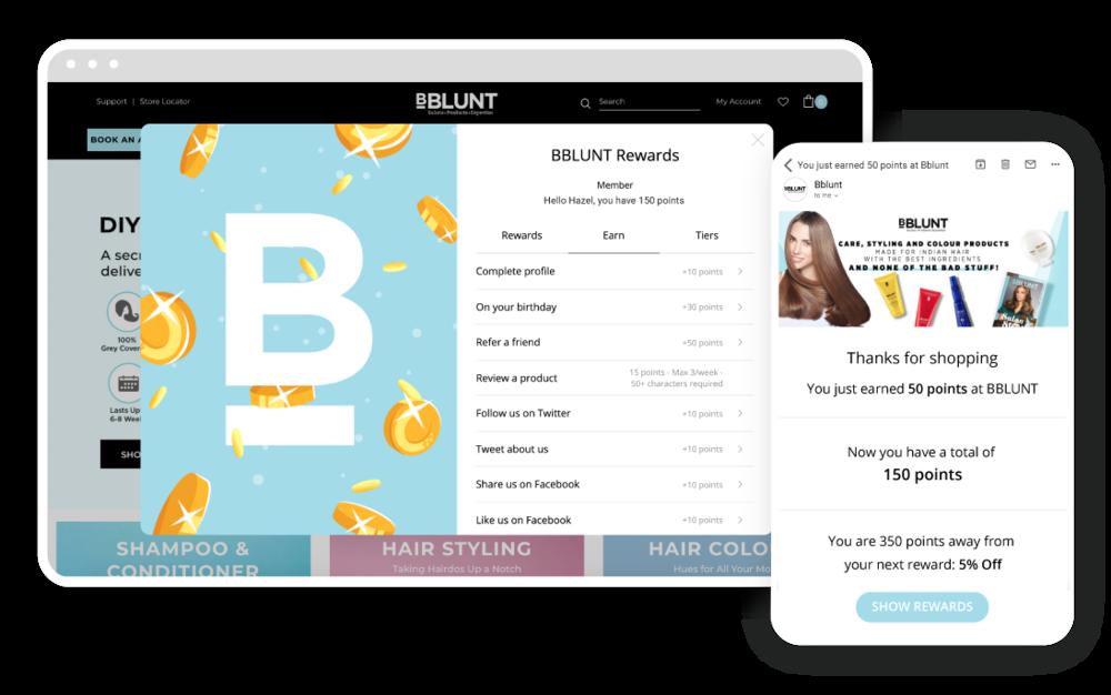 Marsello Bblunt Loyalty Program eCommerce