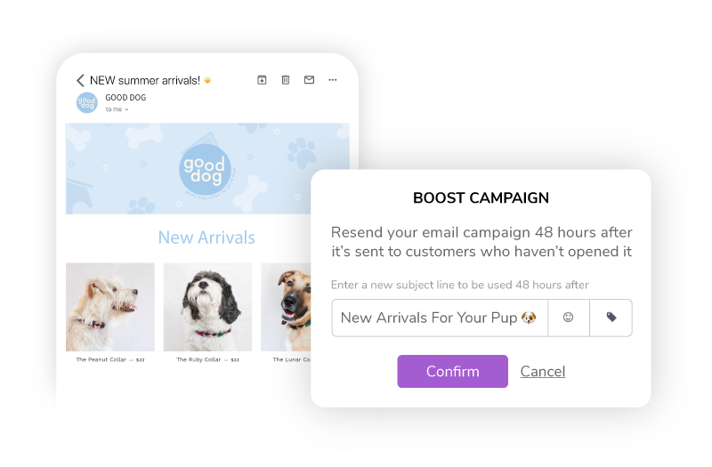 Give your campaigns an extra boost