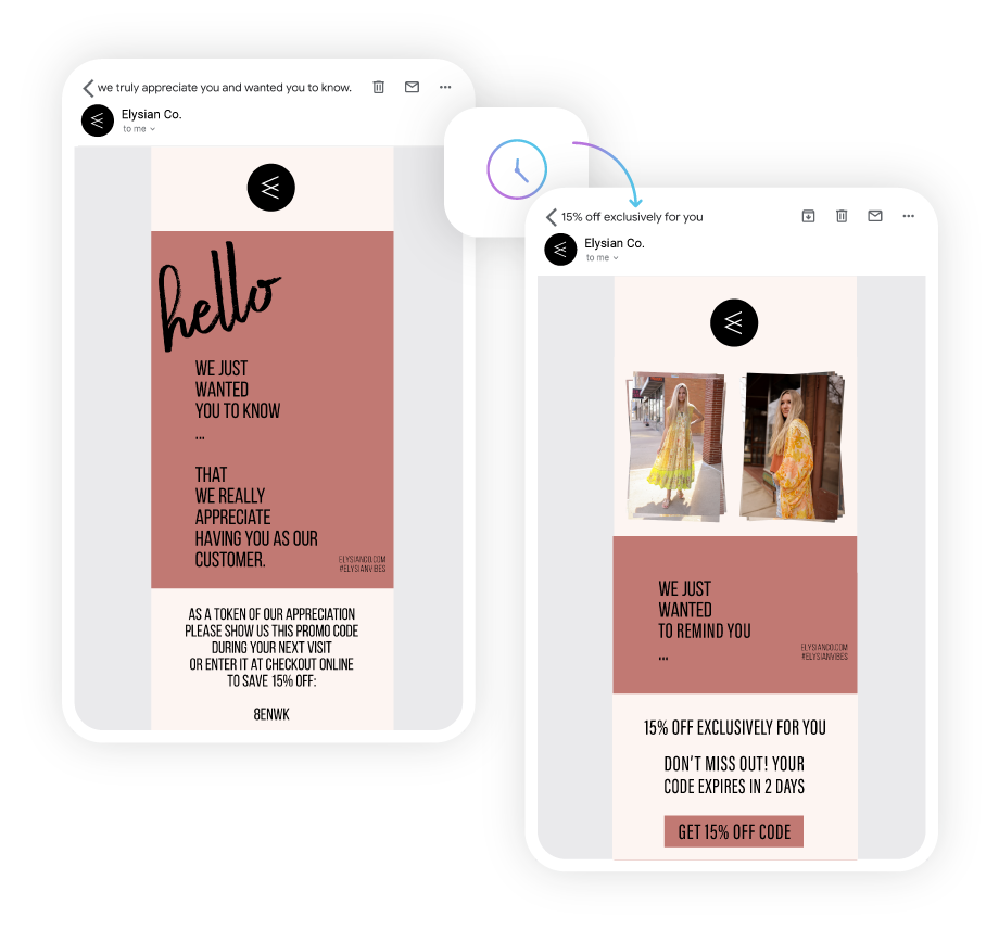 Marsello Loyalty Program Email eCommerce Design