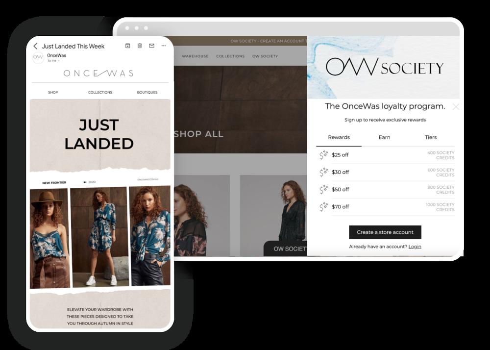 Marsello-OnceWas-Loyalty-Program-Email-Design