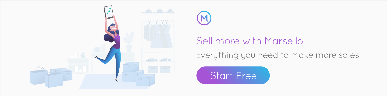 Sell more with Marsello